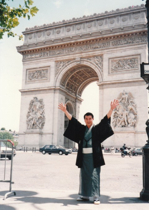 パリできもの宣言