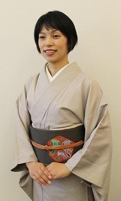 着付けエレガンス講座 講師 茨木ゆり 前結び きつけ わのくに 熊本市中央区 着物専門店