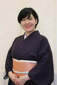 上通り着付け講座 講師 前結び きもの わのくに 着付け 熊本市中央区 着物専門店