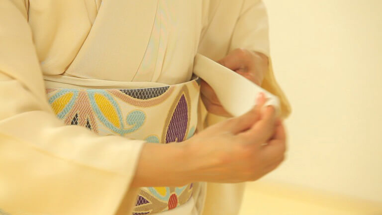 きつけ わのくに 熊本市中央区 上通り 着付け教室 前結び