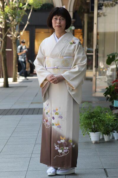 訪問着 着物で豊かな時間を過ごす 熊本市中央区 着物専門店 わのくに