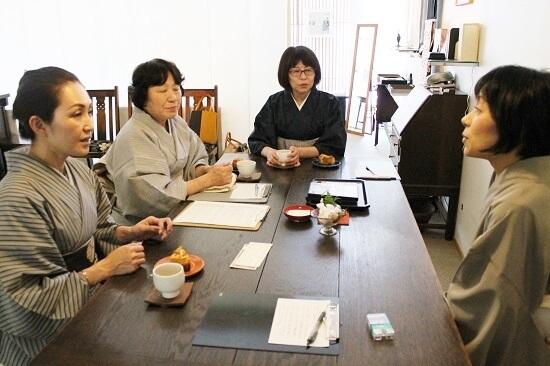 熊本市 着付け教室 着付けエレガンス講座 前結び 中央区 着物専門店 わのくに