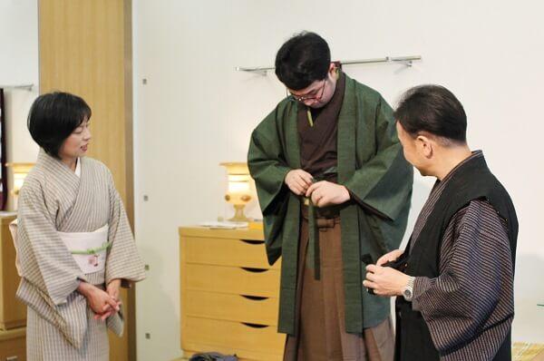 卒業式 袴 男性の着物 上質着物から豊かなくらしのお手伝い 熊本市中央区 着物専門店 わのくに