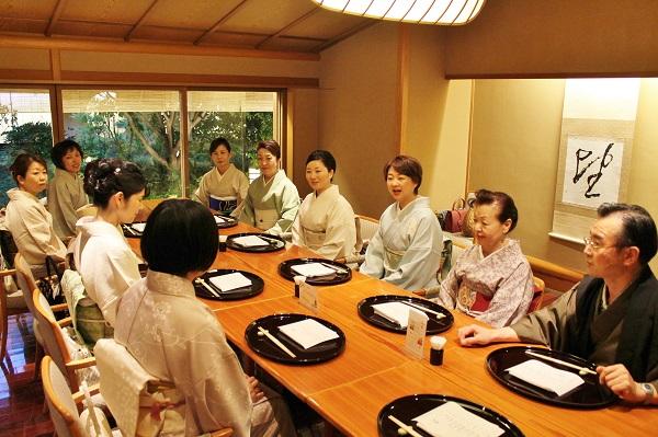 洛風林展 堀江麗子さん ホテル日航熊本 日本料理弁慶 熊本市中央区 着物専門店 わのくに