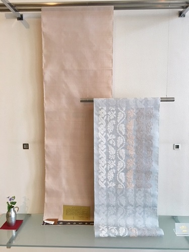 花織 みさやま紬 洛風林名古屋帯 華献上 上質着物 熊本市中央区 着物専門店 わのくに