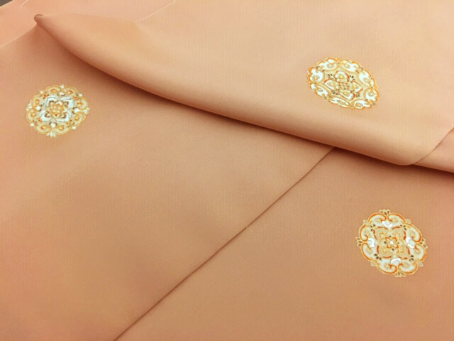 上品なコート 糊糸目 染一ノ橋 熊本市中央区 着物専門店 わのくに