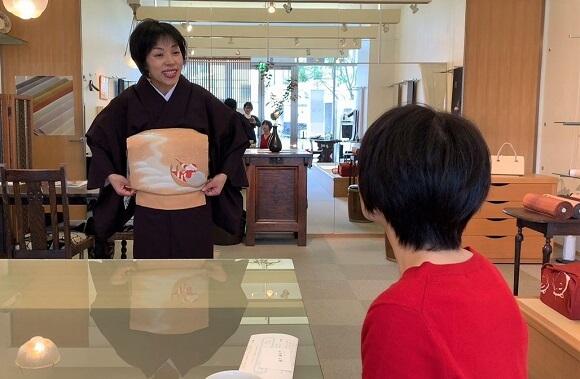 着付け1日マスターコース 5時間の集中レッスン 着付けDVD 熊本市中央区 着物専門店 わのくに