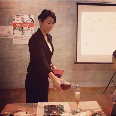出田里美先生 エレガントメイキング講座 リビングカルチャーはません 熊本市中央区 着物専門店 わのくに