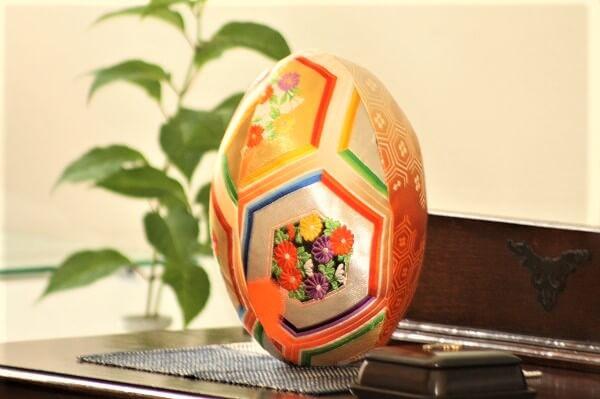 着物ラグビーボール ラグビーワールドカップ2019日本大会 熊本市中央区 着物専門店 わのくに