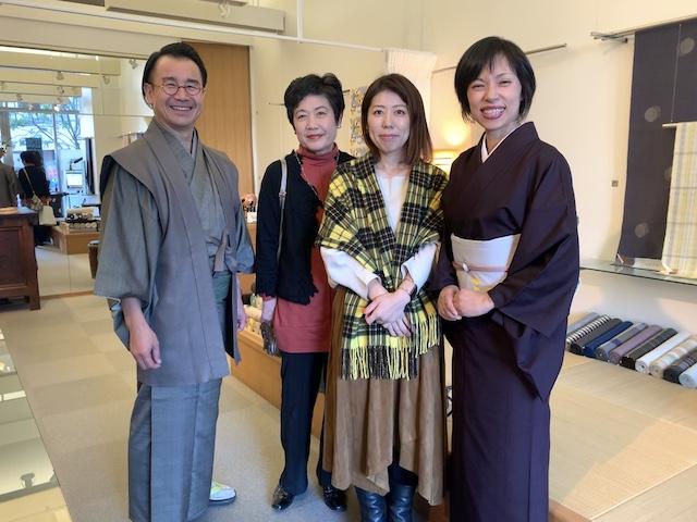 お客様 色無地のおあつらえ 熊本市中央区 着物専門店 わのくに