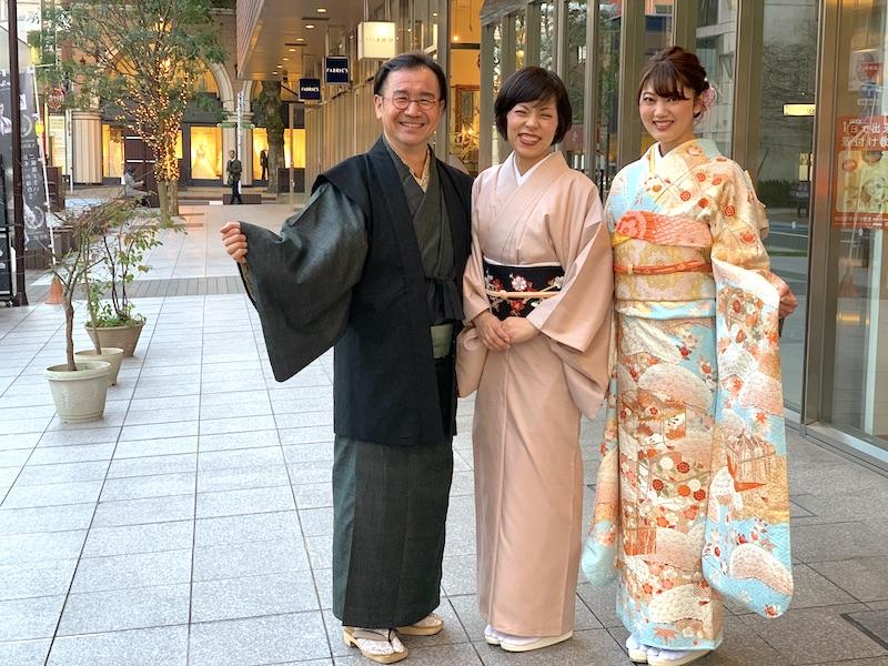 成人式 上品なお振袖 一ノ橋 熊本市中央区 着物専門店 日本スタイル わのくに
