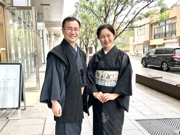 着物姿で出かける 安達絵里子 日本賛美 熊本市中央区 着物専門店 日本スタイル わのくに