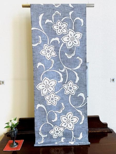季節をたのしむ 季節の名古屋帯 柚木沙弥郎 型絵染帯 熊本市中央区 着物専門店 わのくに